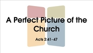 A Perfect Picture of the Church - Acts 2:41-47