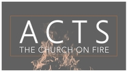 Antioch: A Church on Fire Acts - 11:19-30